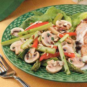 Hazelnut Vegetable Salad