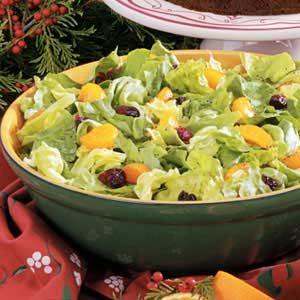 Orange-Cranberry Tossed Salad