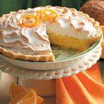 Orange Coconut Meringue Pie