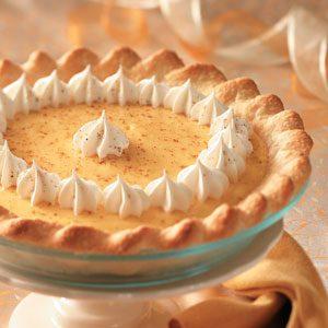Christmas Eggnog Pie