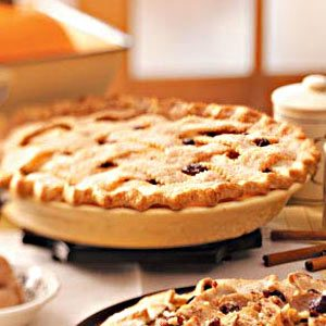 Cherry-Apple Lattice Pie