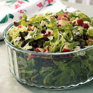 Contest-Winning Holiday Tossed Salad