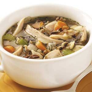 Wild Rice Chicken Soup