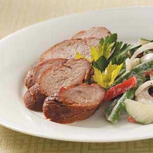 Ginger-Orange Pork Tenderloin