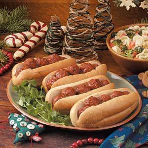 Italian Meatball Hoagies