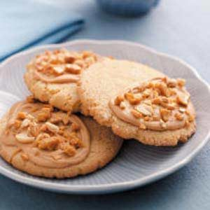 Giant Peanut Brittle Cookies