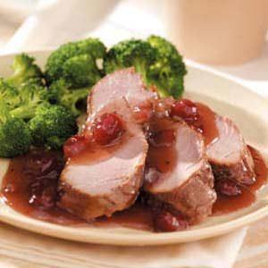 Cranberry Pork Tenderloin