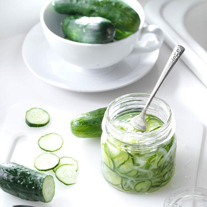 Freezer Cucumber Pickles