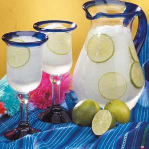 Refreshing Lime Slush