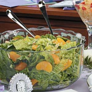 Mandarin Orange Spinach Salad