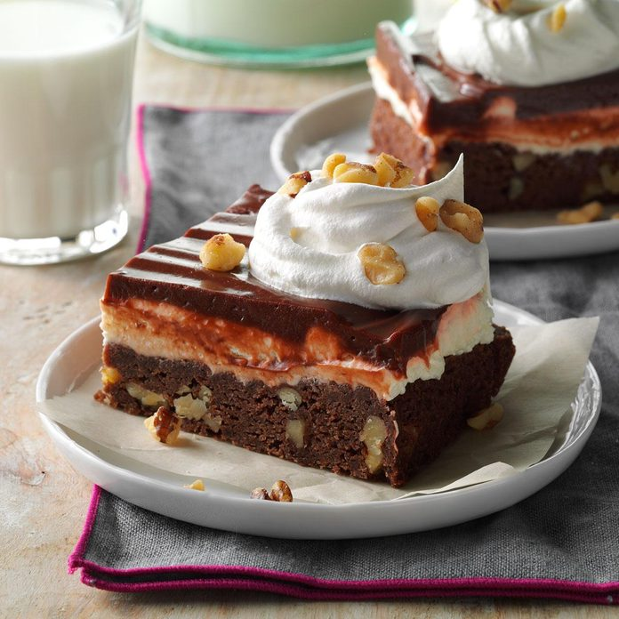 Layered Brownie Dessert