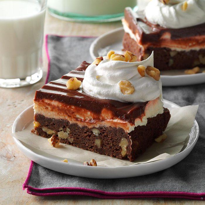Layered Brownie Dessert