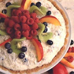 Fresh Fruit/Cheese Pie