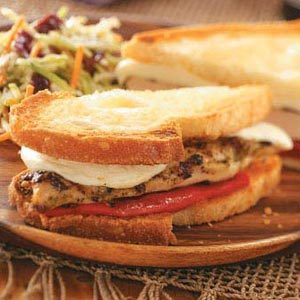 Chicken Pesto Sandwiches