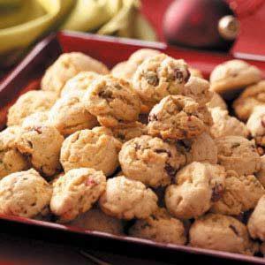 Pistachio Cranberry Cookies
