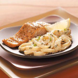 Creamy Parmesan Fettuccini