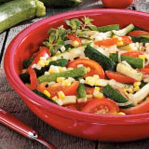 Contest-Winning Garden Vegetable Medley