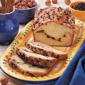 Chocolate-Hazelnut Swirl Bread