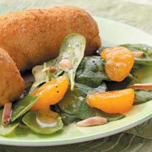 Sweet Spinach and Mandarin Orange Salad