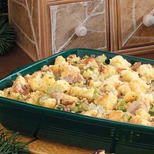 Chicken Cornbread Dressing