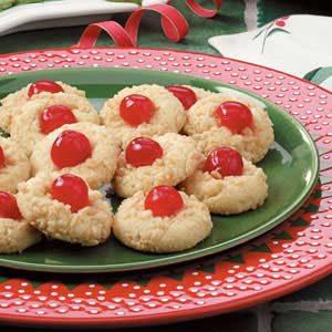 Yuletide Cherry Cookies