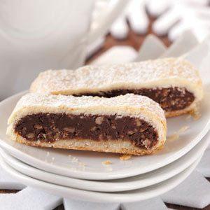 Fudge-Filled Dessert Strips