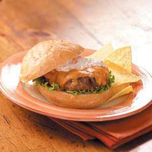 Tex-Mex Turkey Burgers