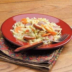 Sausage Noodle Supper