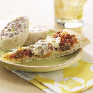 Mexican Salsa Pizza