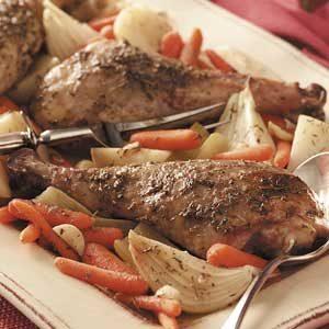 Turkey Leg Pot Roast