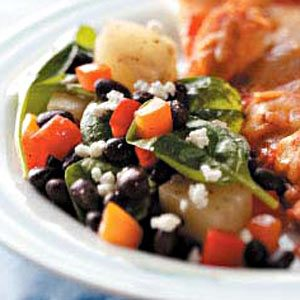 Black Bean Pineapple Salad