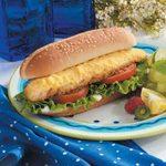 Hearty Walleye Sandwiches