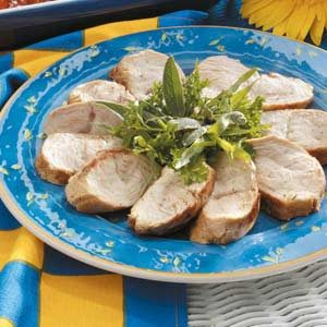 Grilled Tarragon Mustard Turkey