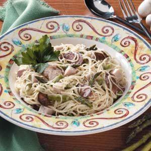 Asparagus-Turkey Pasta Toss
