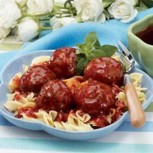 Sweet 'n' Tangy Meatballs