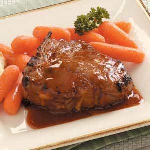 Glazed Lamb Chops