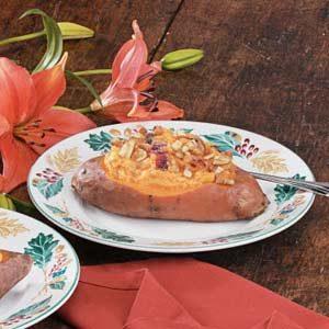 Pineapple-Stuffed Sweet Potatoes