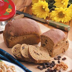 Raisin Molasses Yeast Bread