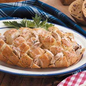 Swiss Cheese Mushroom Bread