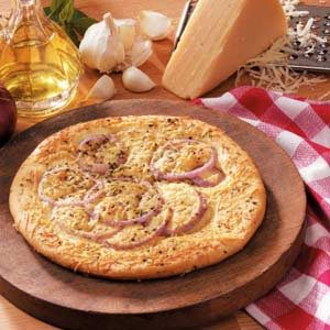 Red Onion Foccacia for Two