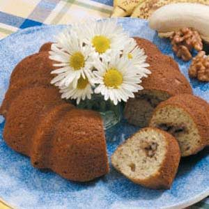 Sour Cream Banana Coffee Cake