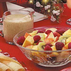 Kiwi Dressing for Fruit