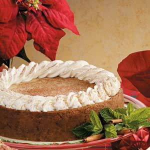 Holiday Spice Cheesecake