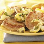 Pork with Artichokes and Capers