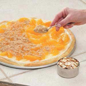 Peaches 'n' Cream Pizza