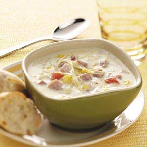 Farmhouse Ham Chowder