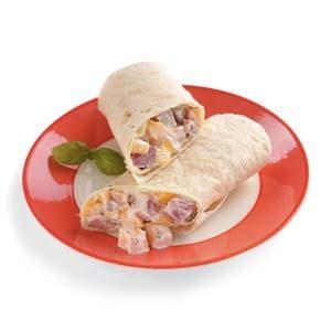 Ham and Mango Wraps