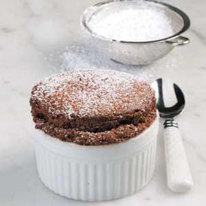 Easy Chocolate Souffles