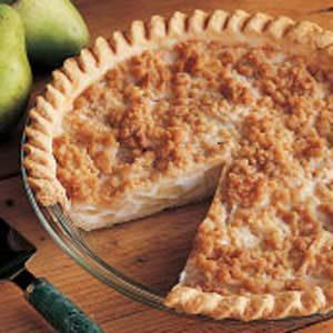 Creamy Pear Pie