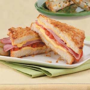 Crunchy Ham and Cheese